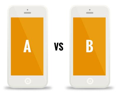 Web Design Agency - A/B Testing