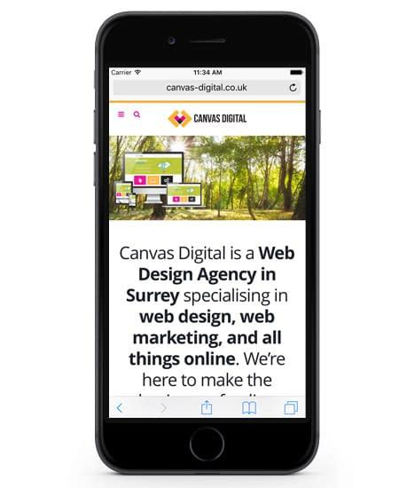 Canvas Digital - Surrey Digital Agency
